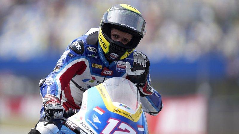 Motocyclisme – GP d'Autriche: Lüthi signe son premier top 10 de la saison