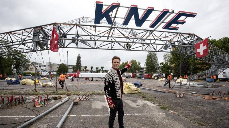 Spectacle: début de la tournée du cirque Knie avec Bastian Baker à Rapperswil