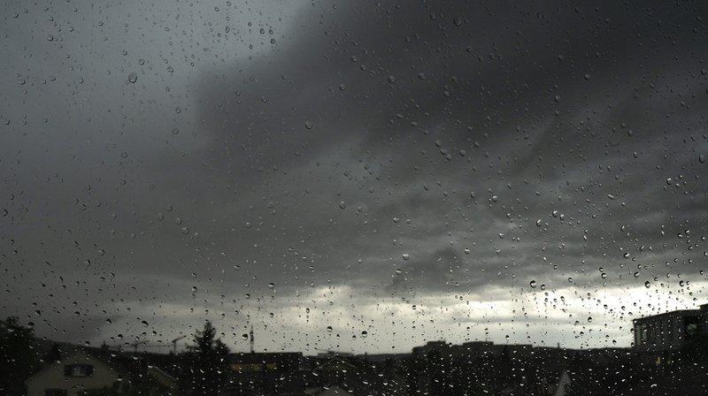 Intempéries: les orages ont touché le Jura, la Confédération a émis une alerte