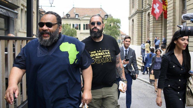 Genève: l'humoriste Dieudonné a été reconnu coupable par le tribunal