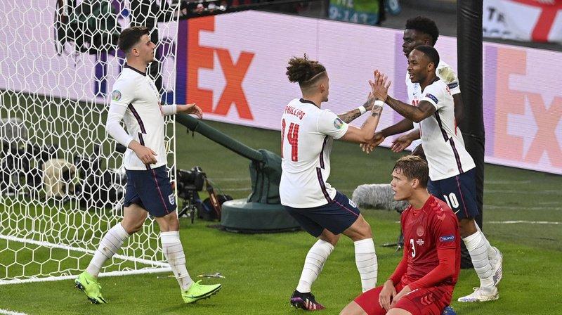 Euro 2021: au bout des prolongations, l'Angleterre se hisse en finale