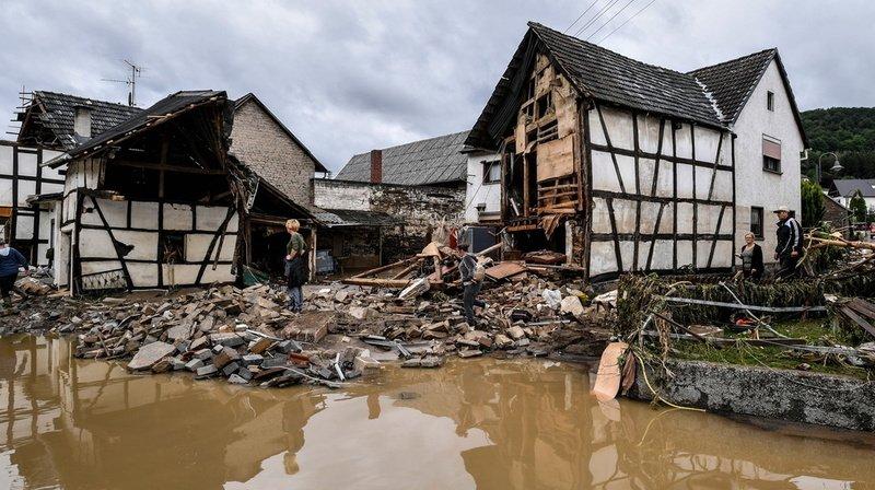 Inondations en Europe: au moins 59 morts en Allemagne et 8 en Belgique, ainsi que de nombreux disparus