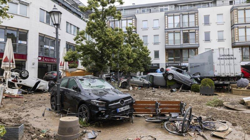 L'Allemagne paie un lourd tribut aux intempéries qui ont balayé le pays.