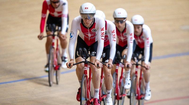 Cyclisme sur piste: déception pour Robin Froidevaux et les poursuiteurs suisses