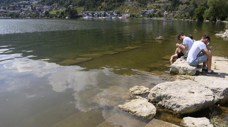 Intempéries: le niveau des lacs suisses est sous contrôle, nouveaux orages en vue