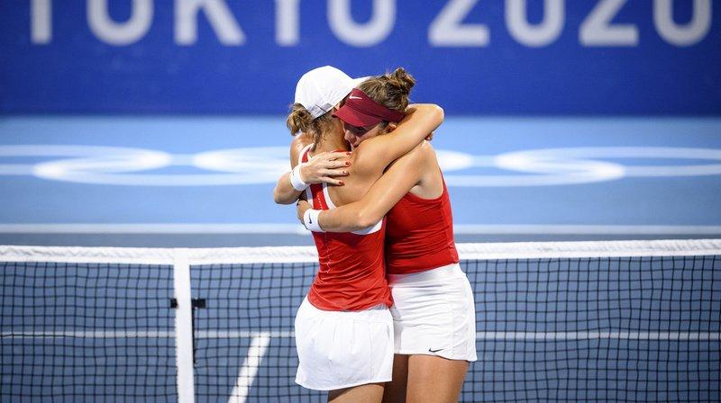 JO 2021 - Tennis: la paire Bencic/Golubic se hisse en finale du double, 8e médaille assurée