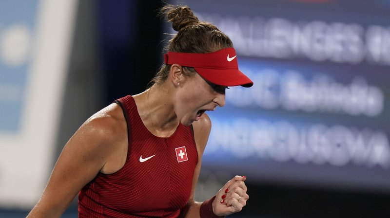 JO 2021 – Tennis: au bout du suspense, Belinda Bencic remporte le tournoi olympique et entre dans l'histoire!