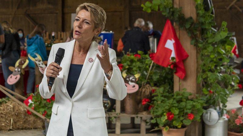 1er Août: Karin Keller-Sutter prône l'écoute mutuelle plutôt que la guerre culturelle