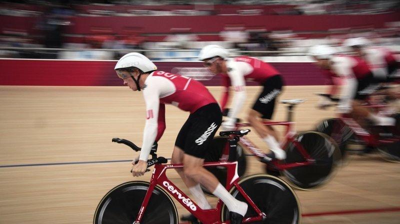 Cyclisme sur piste: pas de nouveau record suisse pour Robin Froidevaux et Cie