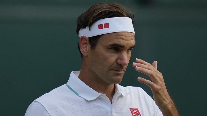 Federer a essuyé un lourd échec mercredi à Wimbledon.