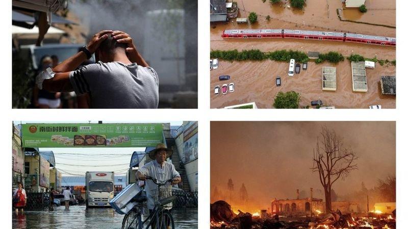 Canicules, incendies, inondations… Un été marqué par des catastrophes naturelles