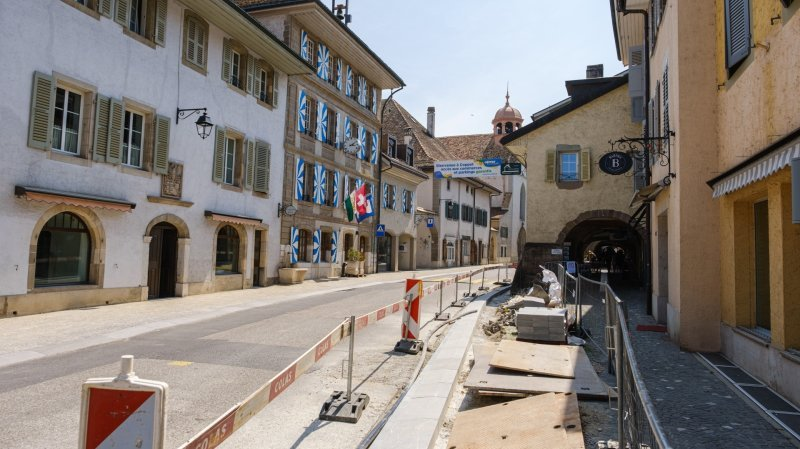 Coppet: après les travaux, la traversée du bourg sera limitée à 30km/h