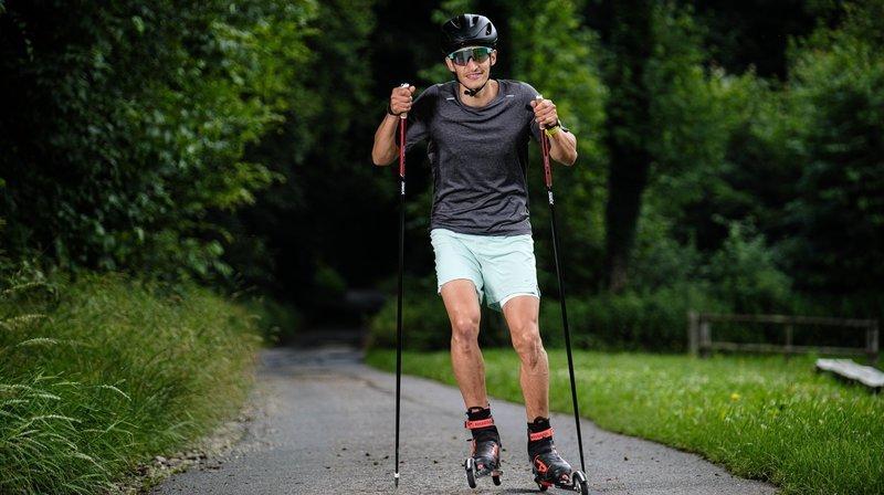 Apples: il troque ses crampons pour le ski de fond et vise les JO de Pékin