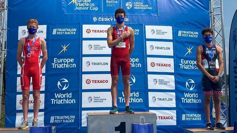 Luca Luberti remporte sa première Coupe d'Europe junior