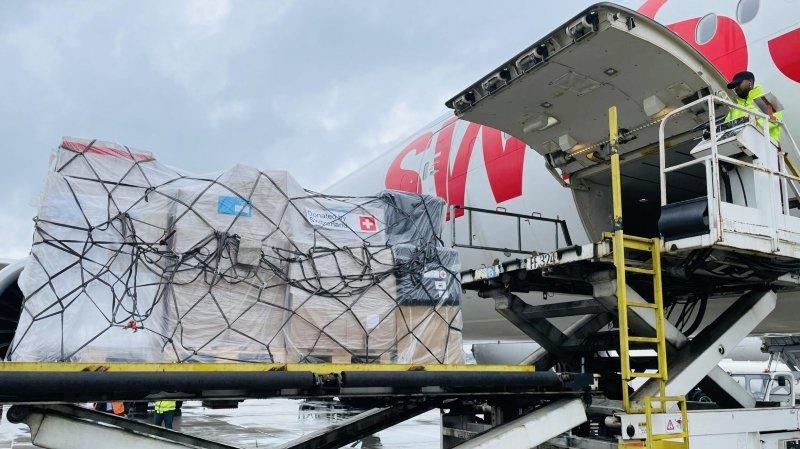 Coronavirus: la Suisse envoie 26 tonnes de matériel médical en Thaïlande