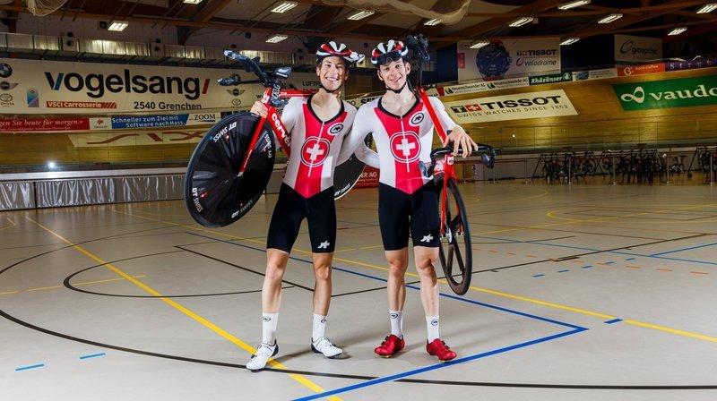 Les grands copains Robin Froidevaux et Valère Thiébaud partagent leur rêve olympique