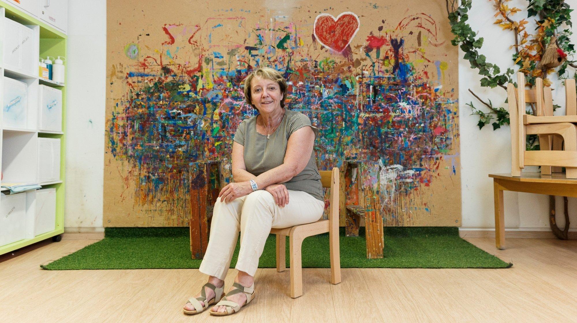 Rolle: elle remet les clés du jardin d'enfants qu'elle a créé il y a 45 ans