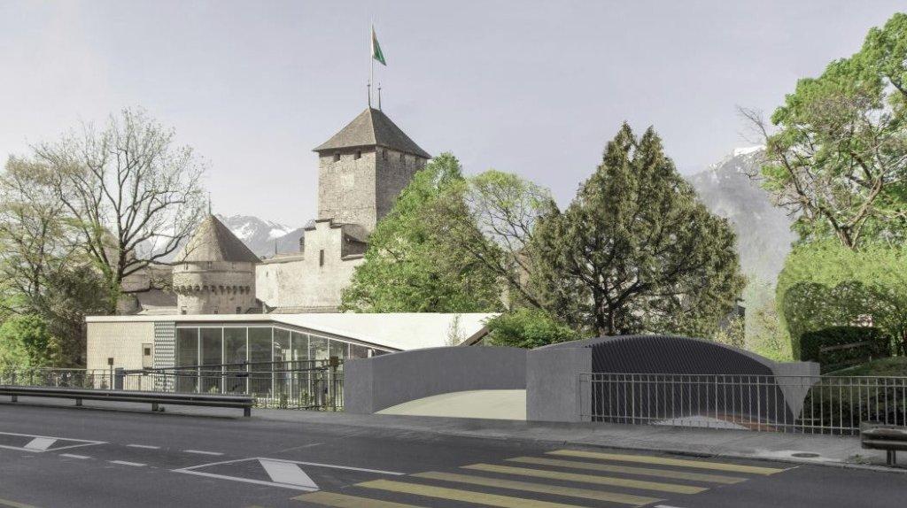 Un nouveau pont pour aller au Château de Chillon
