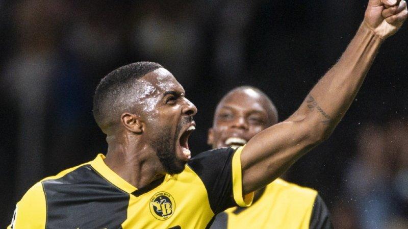 Football – Ligue des champions: Young Boys s'impose face à Ferencvaros lors du match aller des barrages