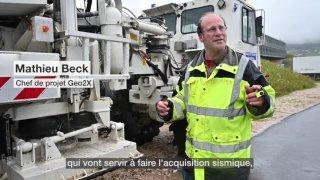Des camions vibreur vont cartographier La Côte