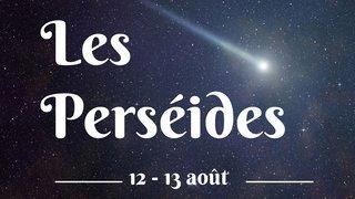 Étoiles filantes des Perséides