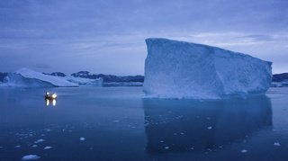 Groenland: la calotte glaciaire fond en accéléré à cause d'une vague de chaleur