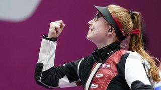 JO 2021 – Tir: la Suissesse Nina Christen décroche l'or aux 3 positions!