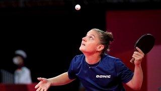 Tennis de table: Rachel Moret se qualifie brillamment pour le 3e tour