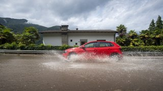 Météo: le Tessin fortement frappé par les pluies