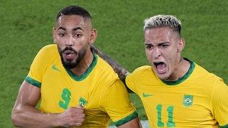 JO 2021 – Football: le Brésil bat l'Espagne en prolongation et conserve son titre olympique