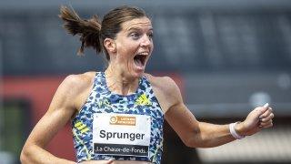 Résisprint de La Chaux-de-Fonds: un plaisir teinté d'émotion pour Lea Sprunger