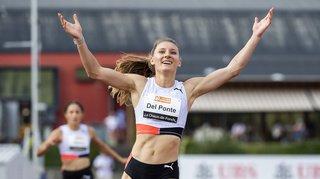 Athlétisme: la sprinteuse Ajla Del Ponte améliore le record de Suisse du 100 m