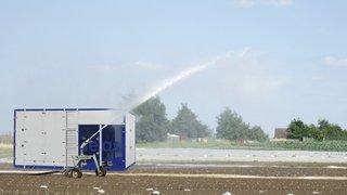 Innovation: au Tessin, une start-up transforme de l'air en eau potable
