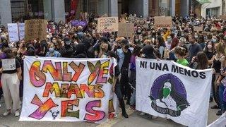 Manifestation: remise de peine d'un violeur dénoncée à Bâle