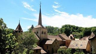 Plongeon médiéval à Romainmôtier