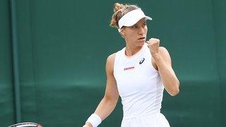 Tennis – Wimbledon: Golubic en quarts!