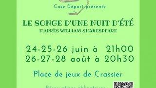 Le songe d'une nuit d'été de William Shakesepaere