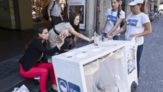 Nyon: une action contre les déchets sauvages