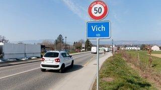 Vich et Cossonay veulent limiter leurs routes à 30km/h de nuit