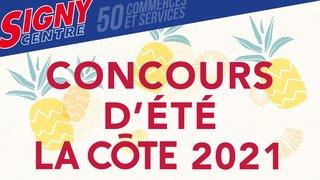 Concours d'été La Côte 2021