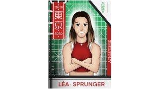 JO: les athlètes vaudois se font tirer le portrait version manga