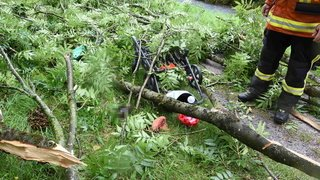 Intempéries: de violents orages se sont de nouveau abattus sur la Suisse centrale