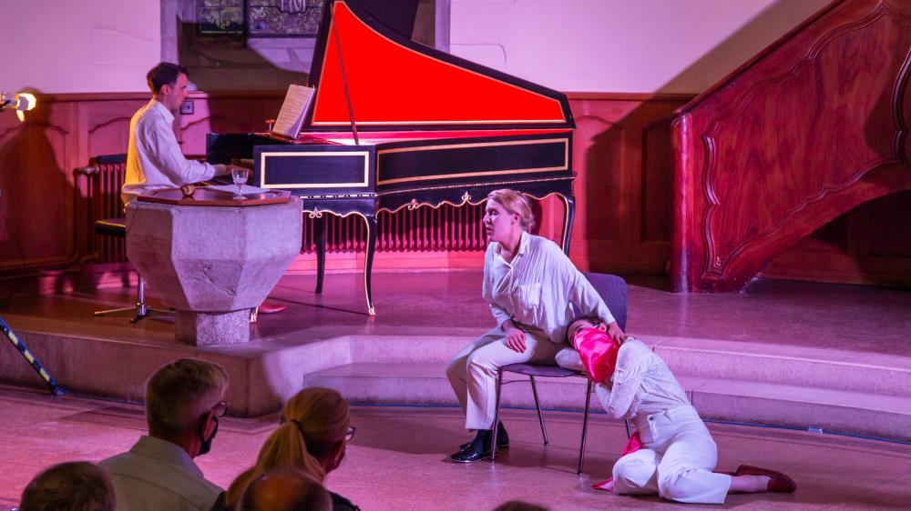 C'est la seconde fois que le festival de musique baroque investit le village de Prangins.