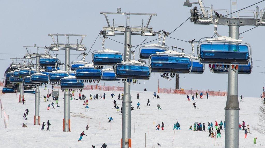 Les skieurs et snowboardeurs non-vaccinés ne pourront pas se rendre sur le domaine skiable allemand de Feldberg, situé sur le plus haut sommet de la Forêt Noire.