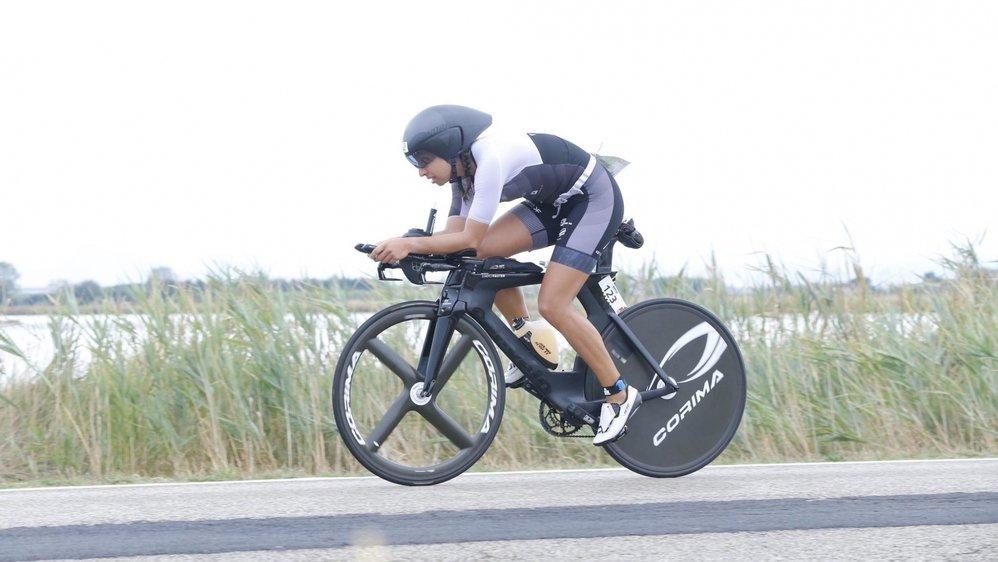La pénalité de cinq minutes reçue lors de la partie cyclisme n'a pas empêché Alexia Pricam de briller ce week-end.