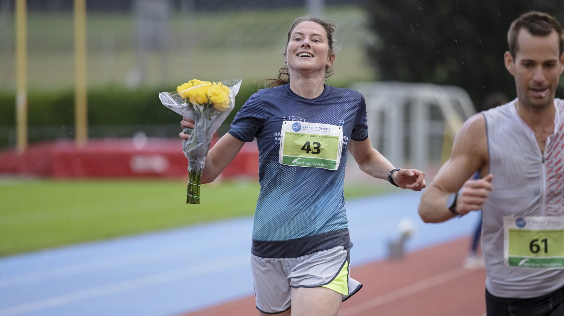 Déjà victorieuse de quatre étapes, Mélissa Favre a fait la passe de cinq à Nyon.
