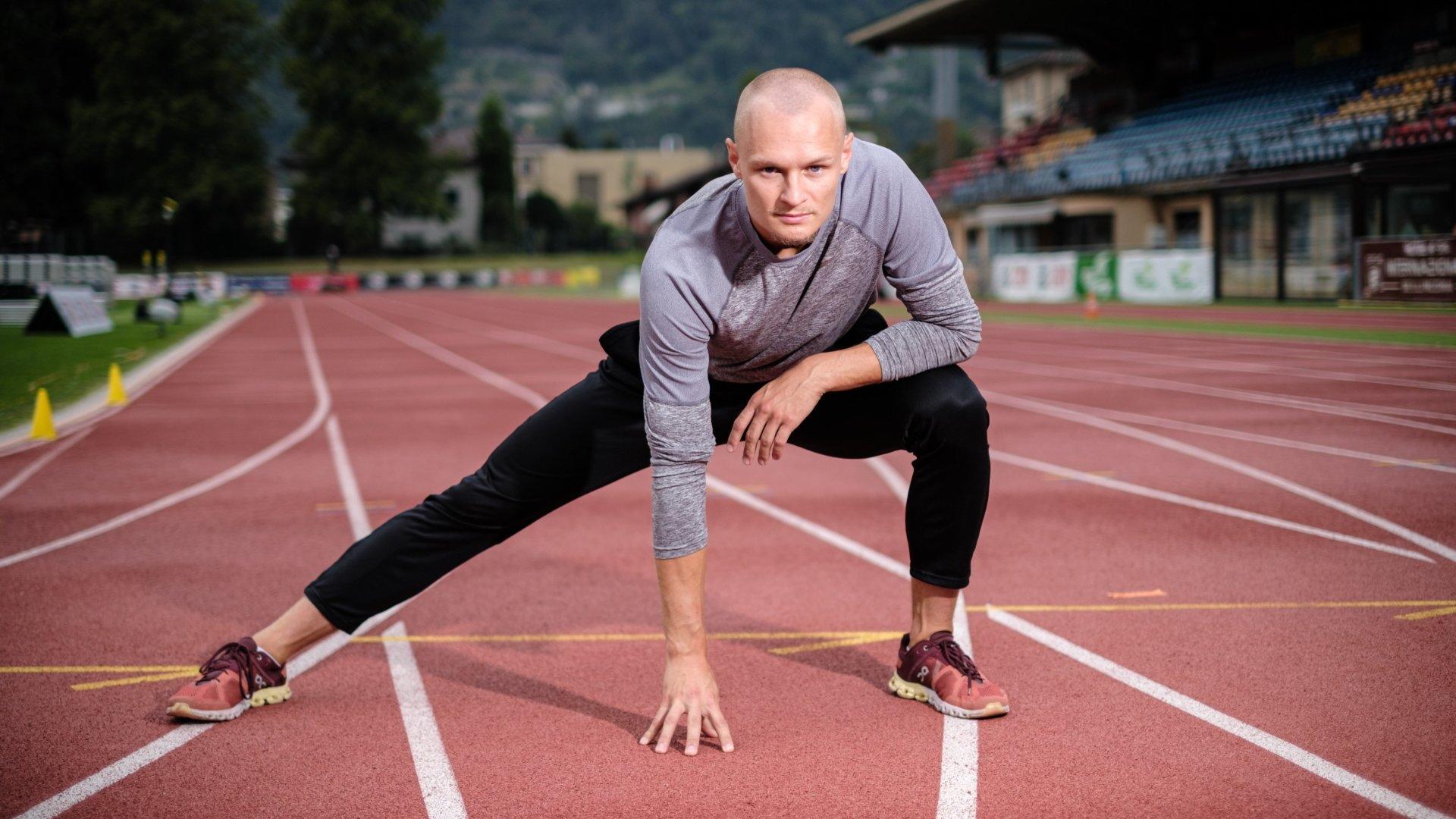 Le sprinteur du Versoix Athlétisme a amélioré ses records sur 200 m et 400 m, mais il estime qu'il aurait pu faire beaucoup mieux.