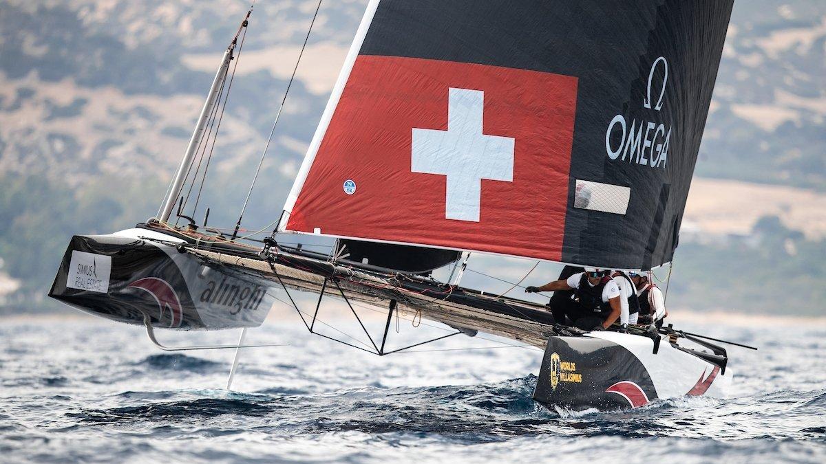Les navigateurs suisses se consoleront en se disant qu'ils restent en tête du GC32 Racing Tour..