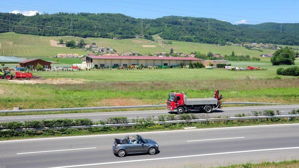 Vue sur la commune de Vinzel (photo d'illustration).