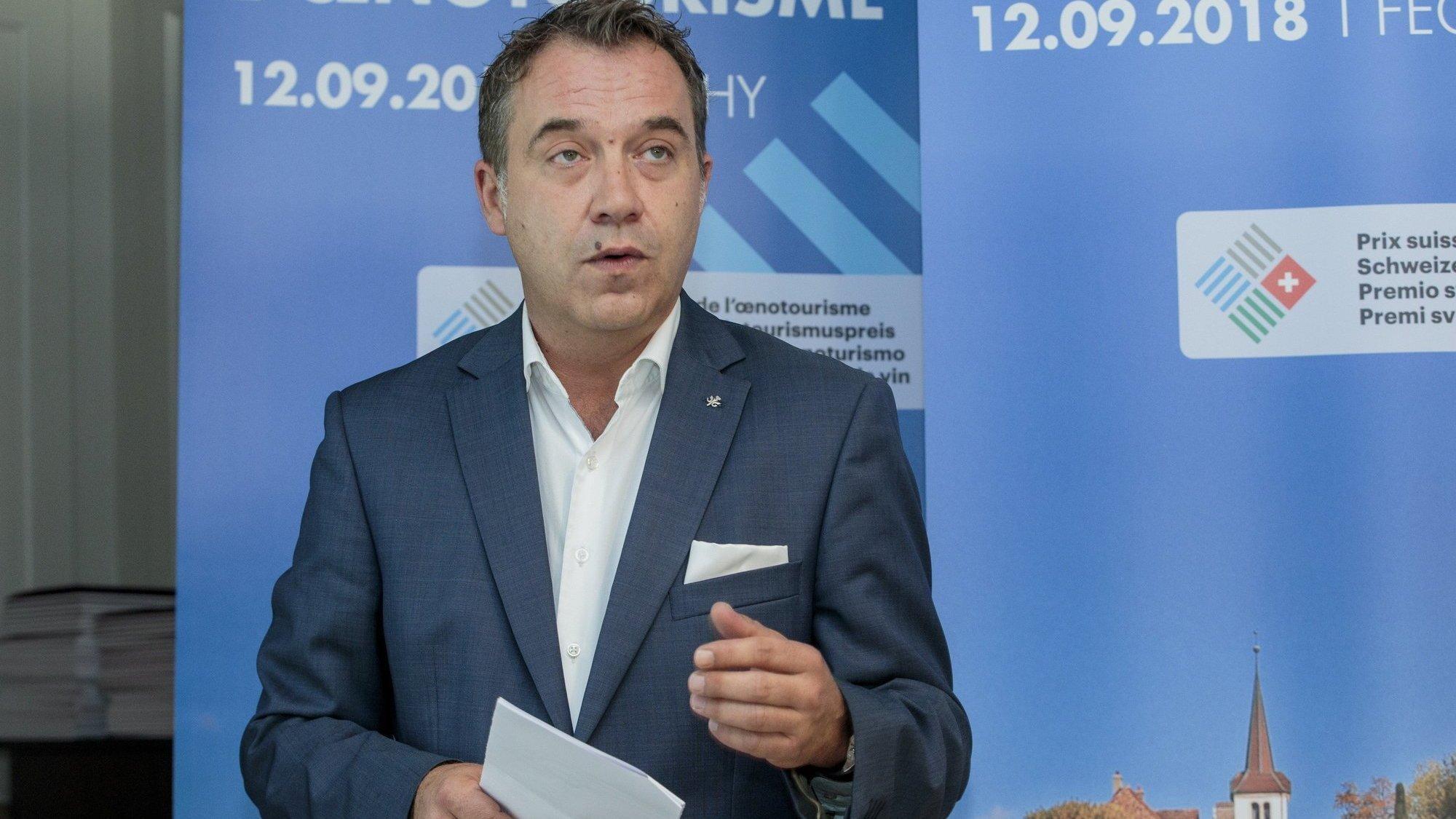 Gilles Meystre, président de Gastrovaud, réagit aux annonces du Conseil fédéral de ce mercredi.